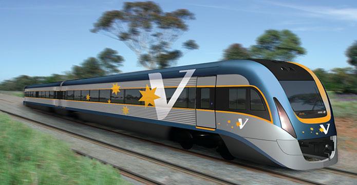 V-Line Train