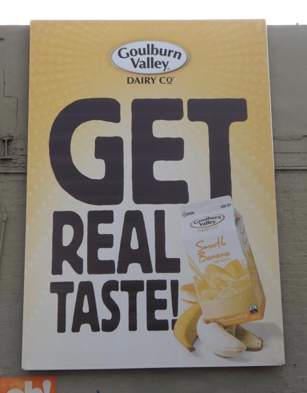 Goulburn Valley Dairy Co. Billboad