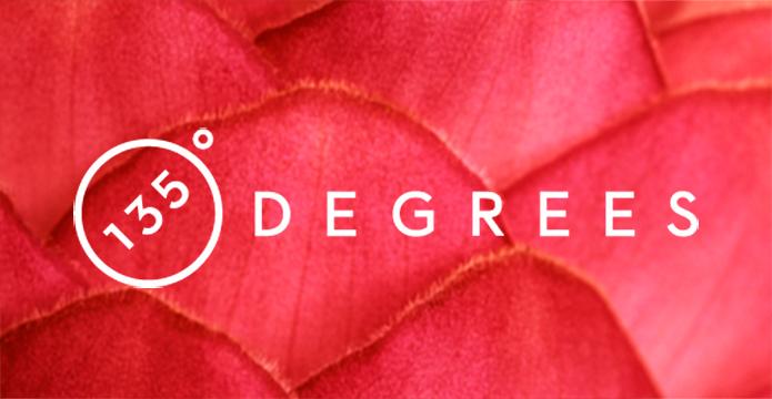135 Degrees Logo