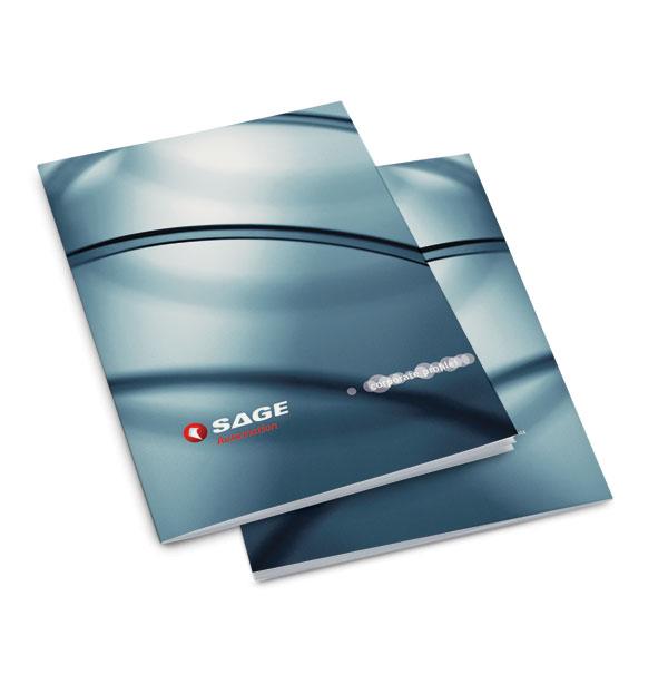 SAGE Brochure Graphic Design Melbourne