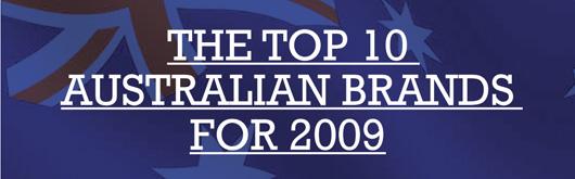 The Top 10 Australian Brands