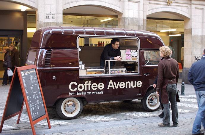 coffee avenue, brand design