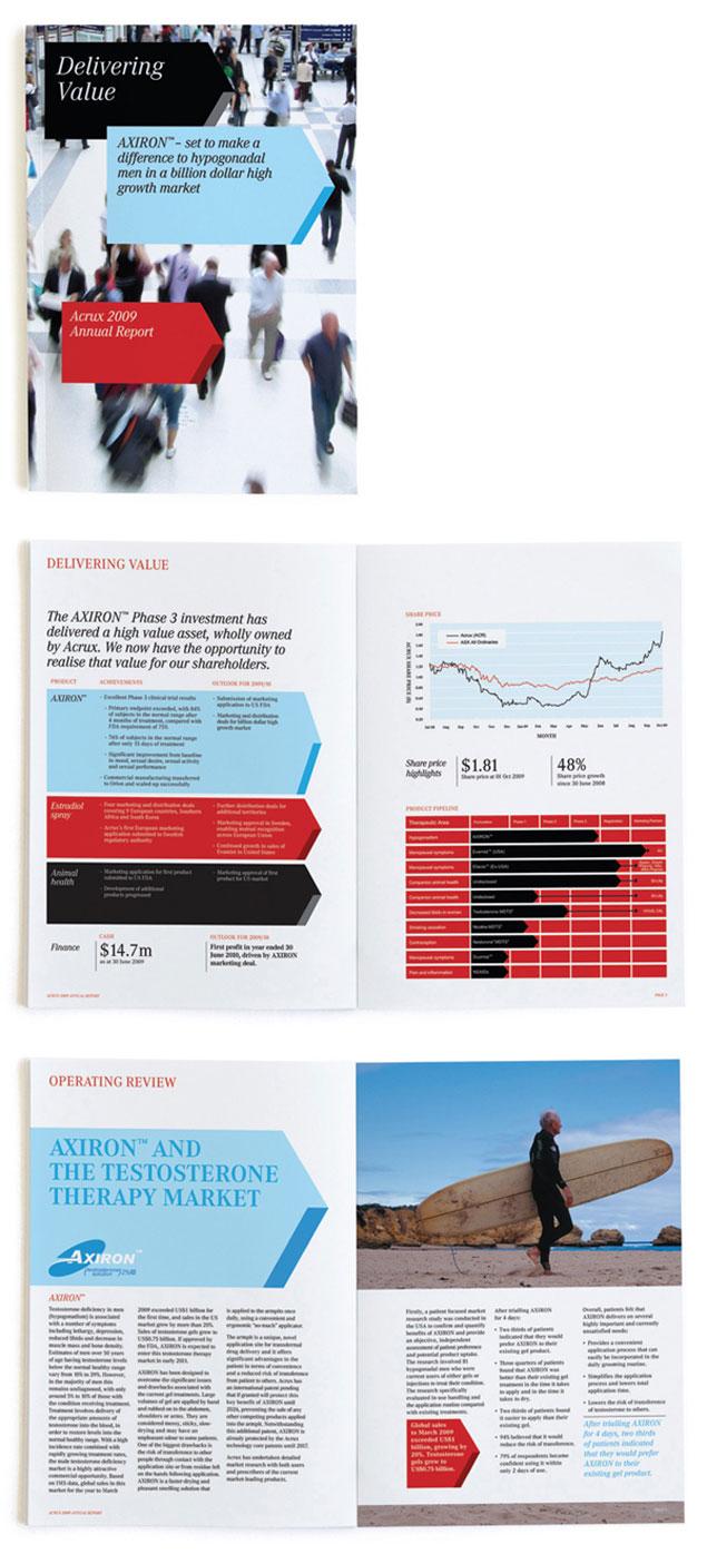 Annual Report Brand Design