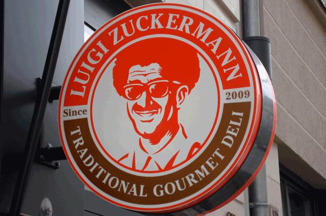Luigi Zuckermann sign