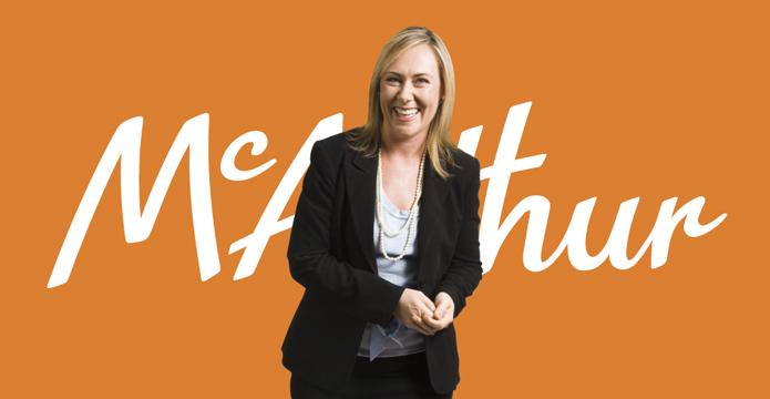 McArthur Logo Header Image