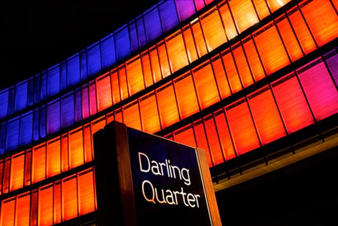 Darling Quartre External Night