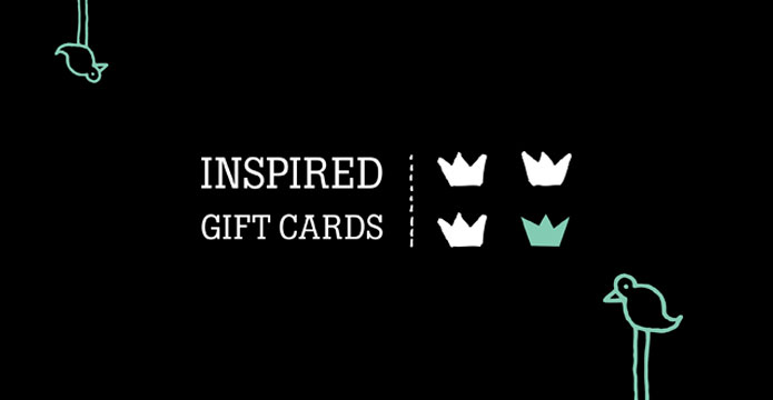 Inspired Gift Cards