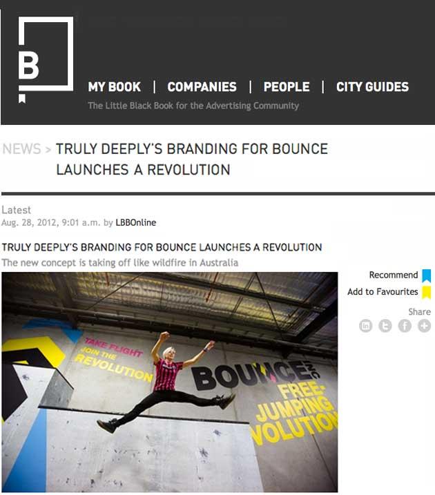 bounce brand identity