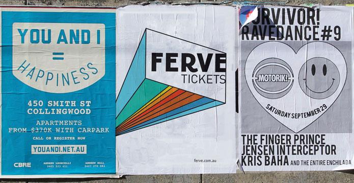 Ferve Brand Street Poster