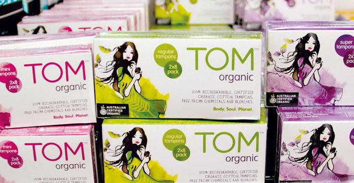 TOM Organics on Supermarket
