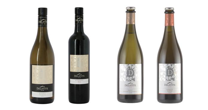 Delatite New Wine Lable