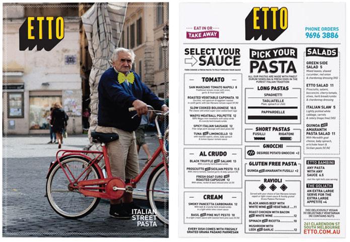 ETTO-menu