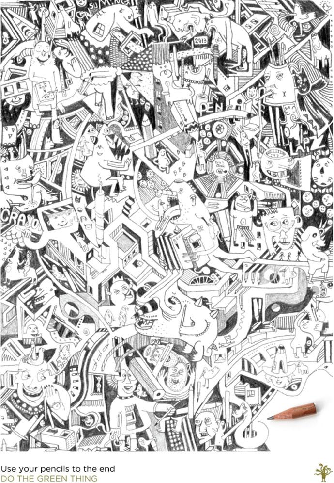 Mr Guil Illustrated Poster Design