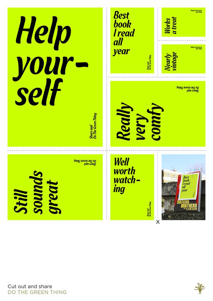 Patrick Cox Poster Design