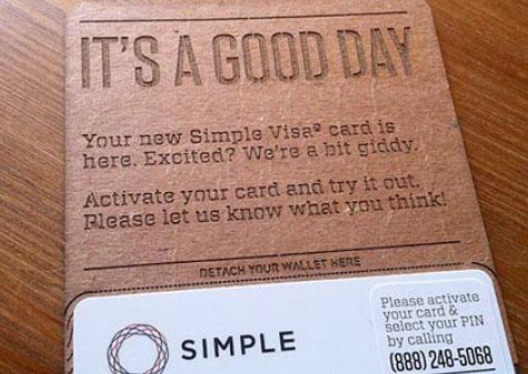 Simple Digital Banking Branding