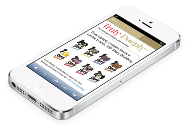 Truly Deeply Brand Strategy and Design Blog on iPhone