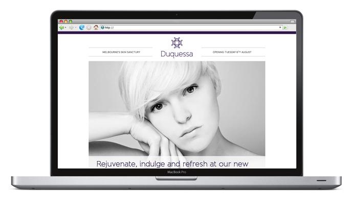 Skin clinic brand website