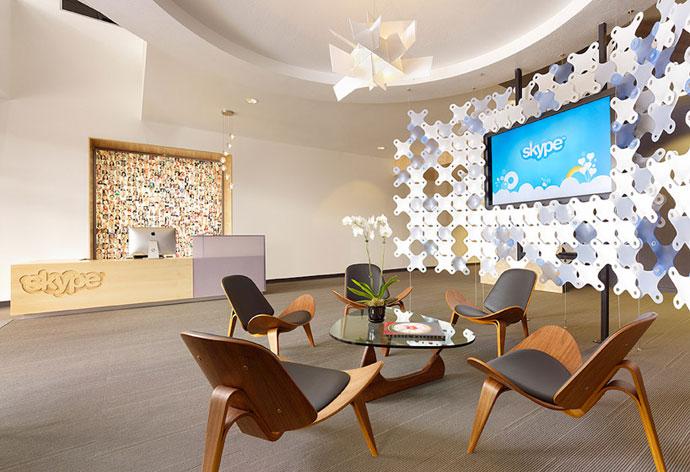 corporate brand interior