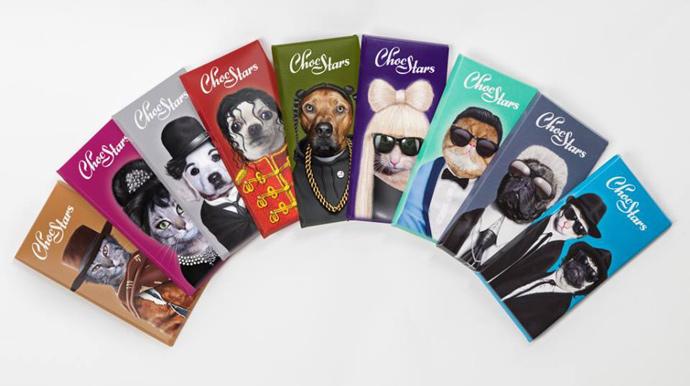 ChocStars Brand Design Packaging