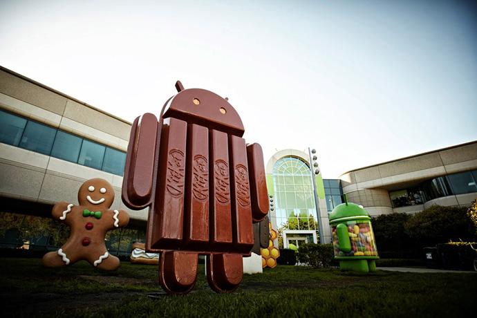 KitKat Android mascot