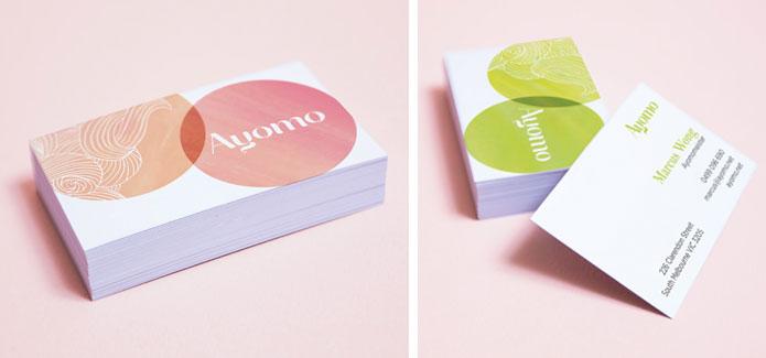 Ayomo Brand stationery