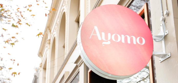 Ayomo Brand Signage