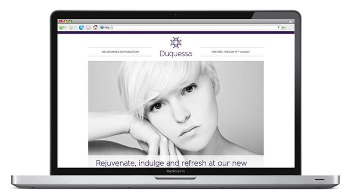 Duquessa Brand Website