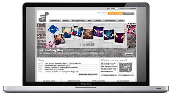 OCRF-Website