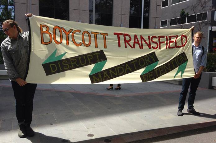 Boycott transfield