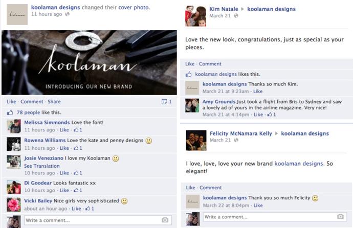 Tracking social sentiment for Koolaman rebrand