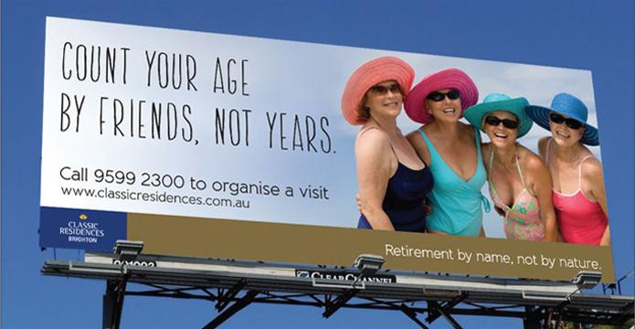 Classic Residences billboard