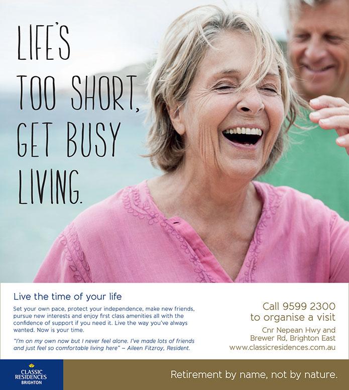 retirement village marketing agency