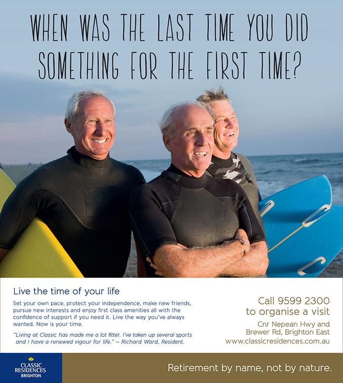 retirement living marketing