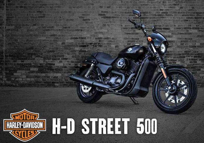 Harley Davidson on an interesting segmentation ride