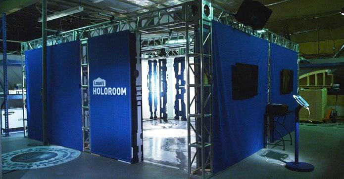 Lowe's sci-fi inspired Holoroom brand gesture