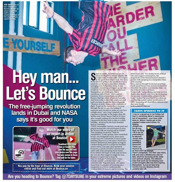 Bounce brand expands to Dubai