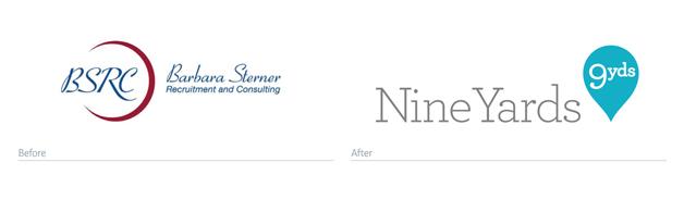 best redesigned branding