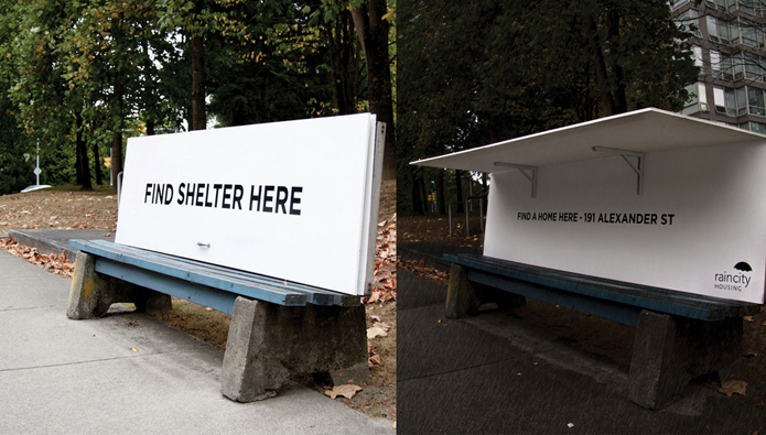 bus-bench-homeless-shelter-vancouver