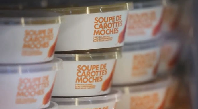 Soup packaging design and branding