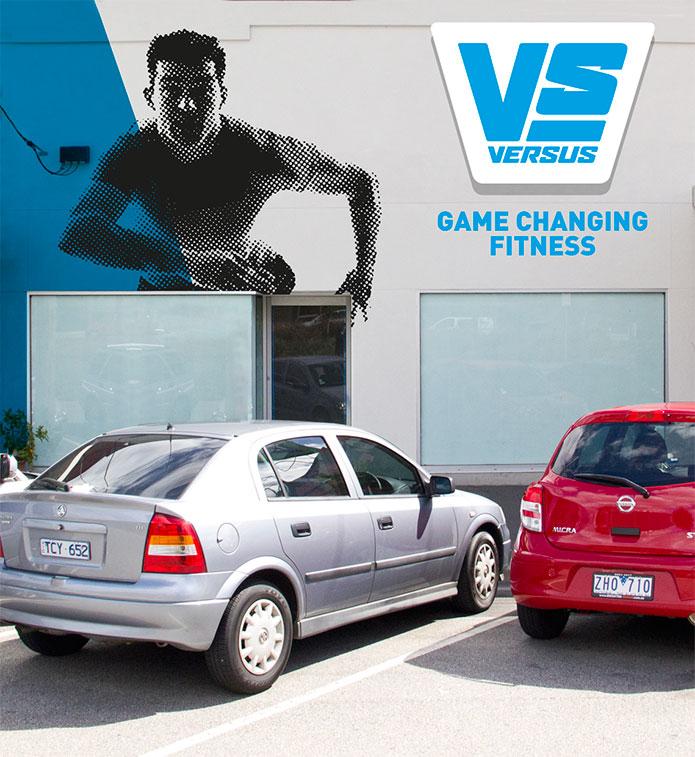 gym brand identity