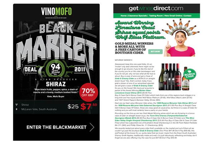 online wine retailer brand