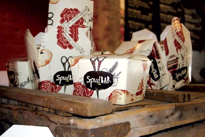 cafe brand identity