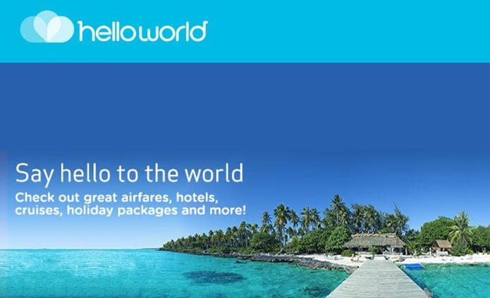 hello world brand identity