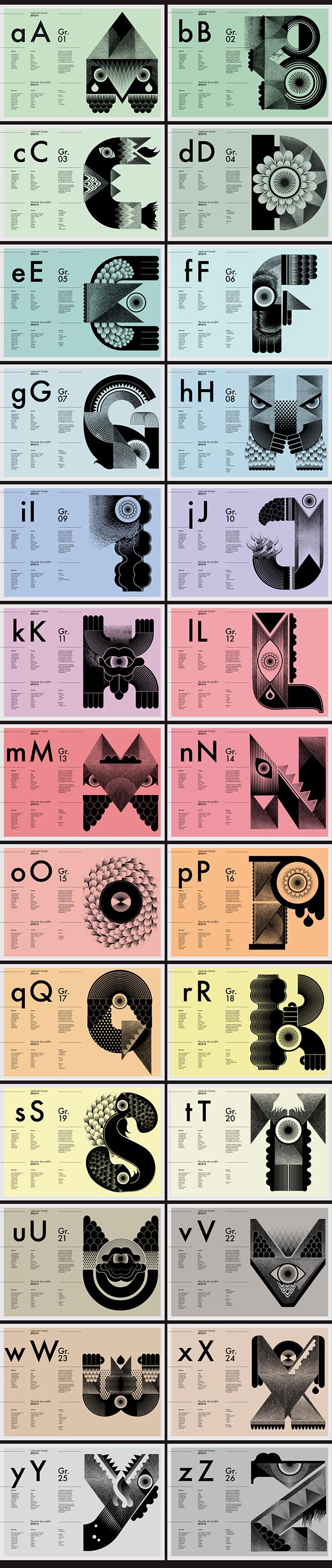 best creative typeface designs