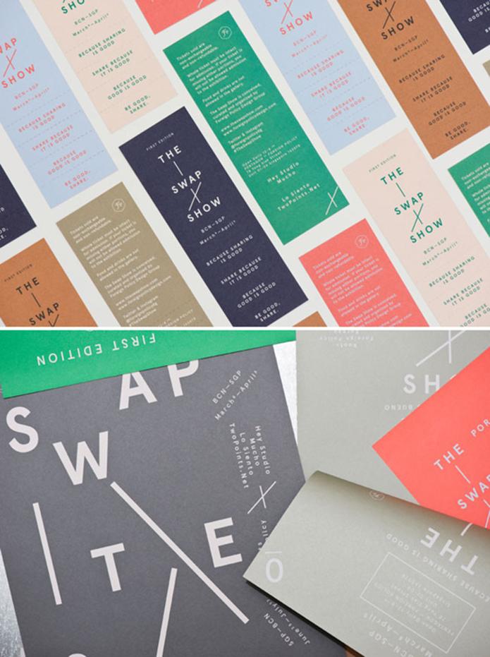 The Swap Show Branding