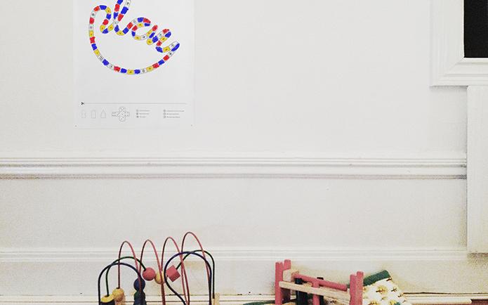 Children Toy Branding Design Poster