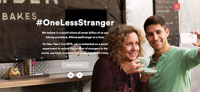 Airbnb #onelessstranger