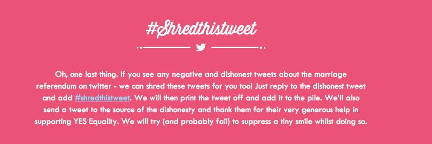 #shredthetweet