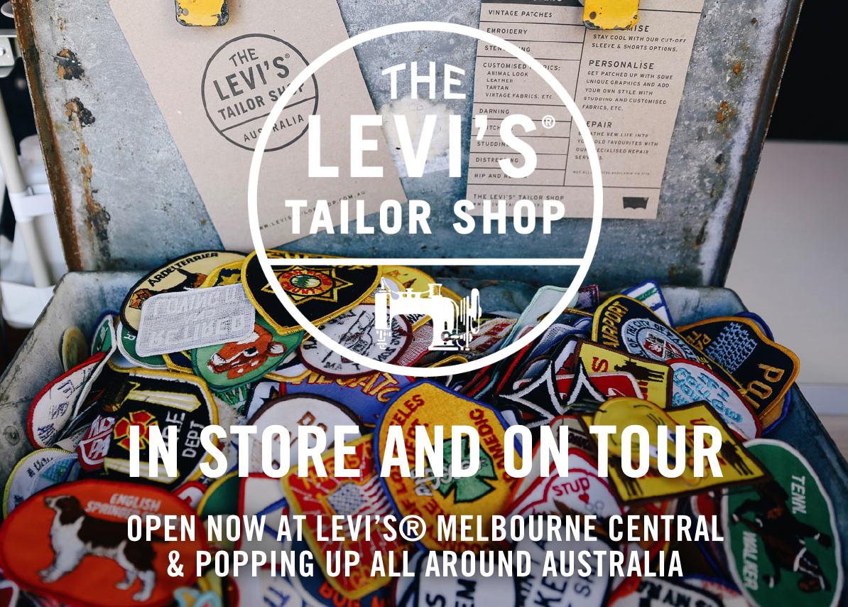 Levi's Tailor shop brand engagement