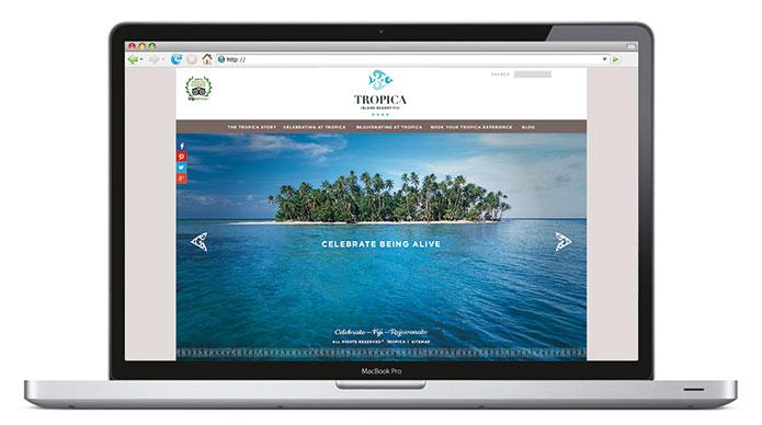 tourism resort web site design